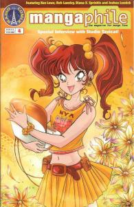 Mangaphile #4 VF/NM; Radio Comix | save on shipping - details inside