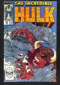 The Incredible Hulk #357 (1989)