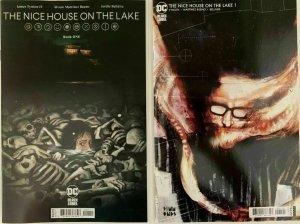 NICE HOUSE ON THE LAKE #1st print TYNION ALVARO BUENO Cover A and B DC BLACK