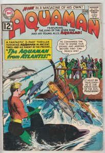 Aquaman #3 (Jun-62) FN+ Mid-High-Grade Aquaman, Aqualad