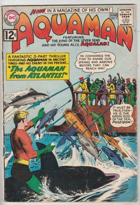 Aquaman #3 (Jun-62) FN+ Mid-High-Grade Aquaman, Aqualad