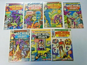Machine Man Comic Lot (1st Series) From #2-16 13 Diff Average 4.0 VG (1978-1980)