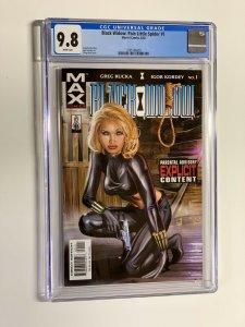 Black Widow Pale Little Spider 1 CGC 9.8 wp 2002