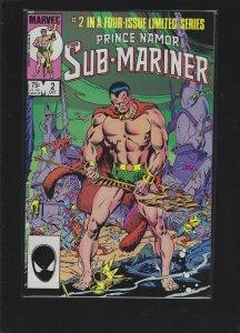 Prince Namor, the Sub-Mariner #2 (1984)