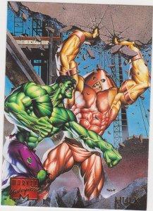 1995 Marvel Masterpieces #41 Hulk