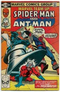 MARVEL TEAM UP#103 FN+ 1981 TASKMASTER & ANT-MAN BRONZE  AGE COMICS
