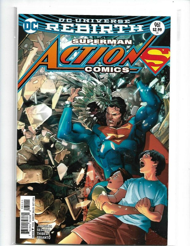 Superman Action Comics #961 OCT 2016 DC Universe Rebirth Comic Book  nw112