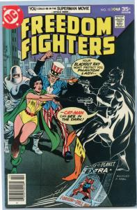 Freedom Fighters 10 Oct 1977 VF- (7.5)