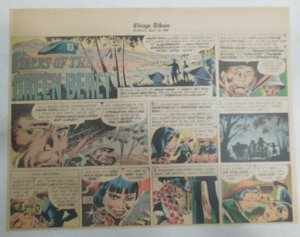 Tales Of The Green Berets by Joe Kubert from 5/15/1966 Size: 11 x 15 inches