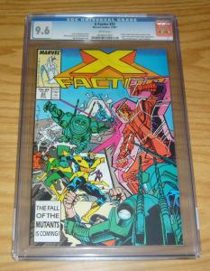 X-Factor #23 CGC 9.6 cameo of archangel pre-dates first appearance - apocalypse