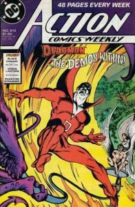 Action Comics (1938 series) #610, NM- (Stock photo)