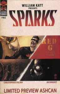 SPARKS #1, VF/NM, Ashcan, Preview, Katt, 2008, more Promo /items in store