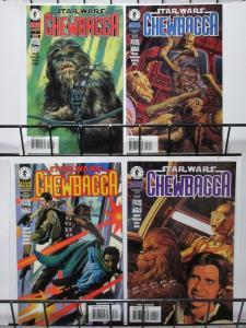 STAR WARS: CHEWBACCA (Dark Horse, 1997) #1-4 VF-NM Itchy & Malla?!?