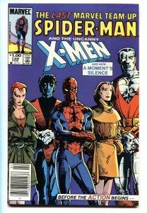 Marvel Team-up #150 Newsstand variant X-Men Spider-man last issue