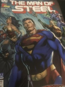 DC The Man of Steel #1 Mint Hot