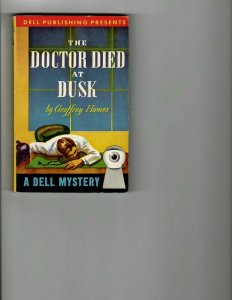 3 Books The Doctor Died at Dusk Ghost of a Chance The Dragon's Teeth JK8