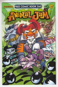 ANIMAL JAM (2017 D. E.) #1 Unstamped NM-  FCBD 2017