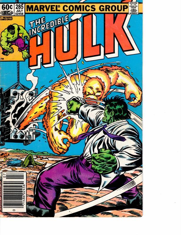Incredible Hulk ( 1968 ) 285 Good 2.0