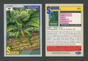 1991 Marvel Comics II  Card  #71 ( Sauron )  MINT