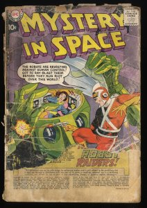 Mystery In Space #53 P 0.5 1st Adam Strange in title!