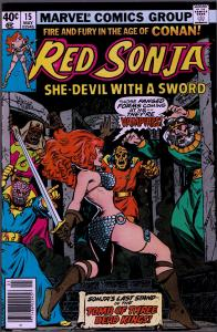 Red Sonja #15 ( 1st Series ) - 8.0 or Better