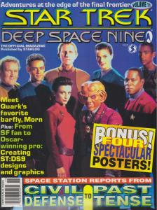 Official Star Trek: Deep Space Nine Magazine, The #11 VF/NM; Starlog | save on s