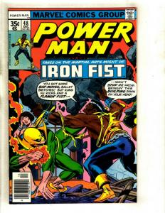 Power Man & Iron Fist # 48 NM Marvel Comic Book Defenders Heroes For Hire GK1