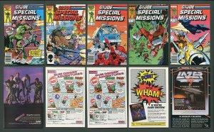 GI Joe Special Missions #1  #2  #3  #4  #5 (SET) / 9.4 NM / 1986