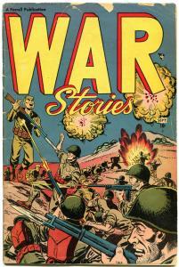 WAR STORIES #1, VG, 1952, Golden Age, Farrell, Enemy Landing, more in store