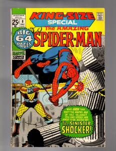 SPIDERMAN ANN  8  VERY GOOD Dec. 1971 COMICS BOOK