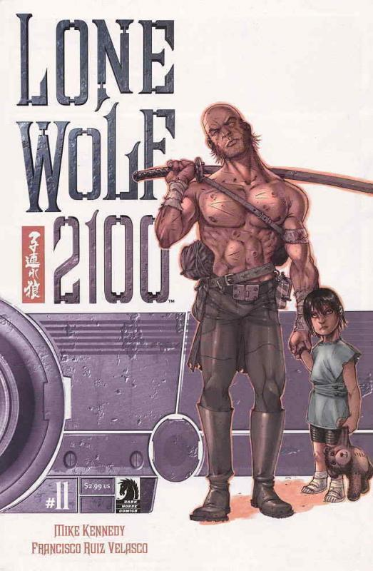 Lone Wolf 2100 #11 VF; Dark Horse | save on shipping - details inside