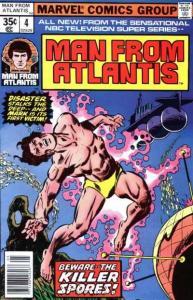 Man from Atlantis #4, Fine- (Stock photo)
