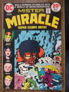 MISTER MIRACLE 16 VG+ 11/1973 DC Kirby COMICS BOOK