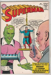 Superman #167 (Feb-64) FN+ Mid-High-Grade Superman, Jimmy Olsen,Lois Lane, La...