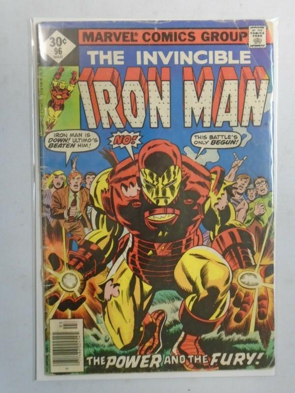 Iron Man #96 DIR (1977 1st Series) 3.5/VG-