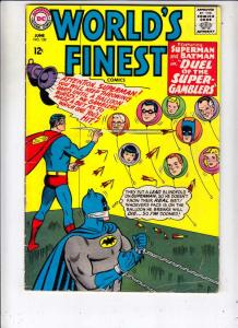 World's Finest #150 (Jun-65) FN+ Mid-Grade Superman, Batman, Robin