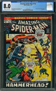 Amazing Spider-man #114 (Marvel, 1972) CGC 8.0