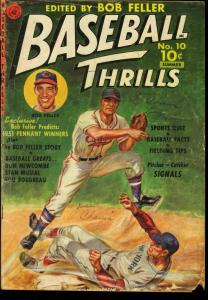 BASEBALL THRILLS #10-BOB FELLER-STAN MUYSIAL 1951 G