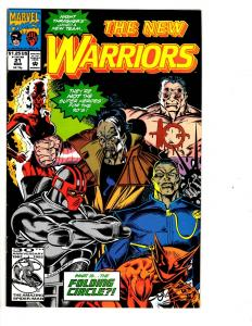 10 The New Warriors Marvel Comic Books # 21 22 23 24 25 26 27 28 29 30 BH40