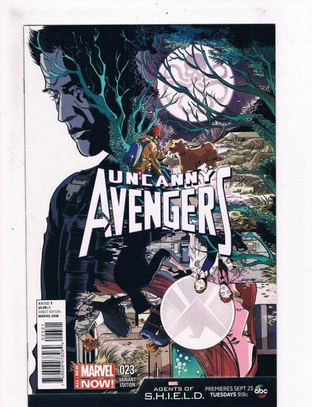 Uncanny Avengers # 23 NM 1st Print Variant Cover Marvel NOW Comic Book Rogue S70
