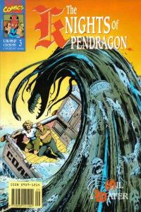 Knights of Pendragon #3, NM + (Stock photo)