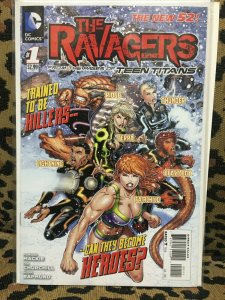 THE RAVAGERS - DC - 4 ISSUES #1-4 - 2012 - VF