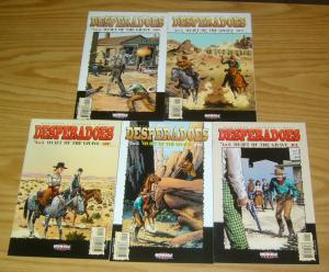 Desperadoes: Quiet of the Grave #1-5 VF/NM complete series  western john severin