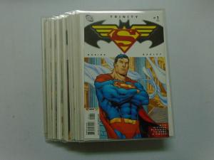 Trinity #1 to #18 - in Mylar sleeve sharp corners unread - 9.0+? - 2008