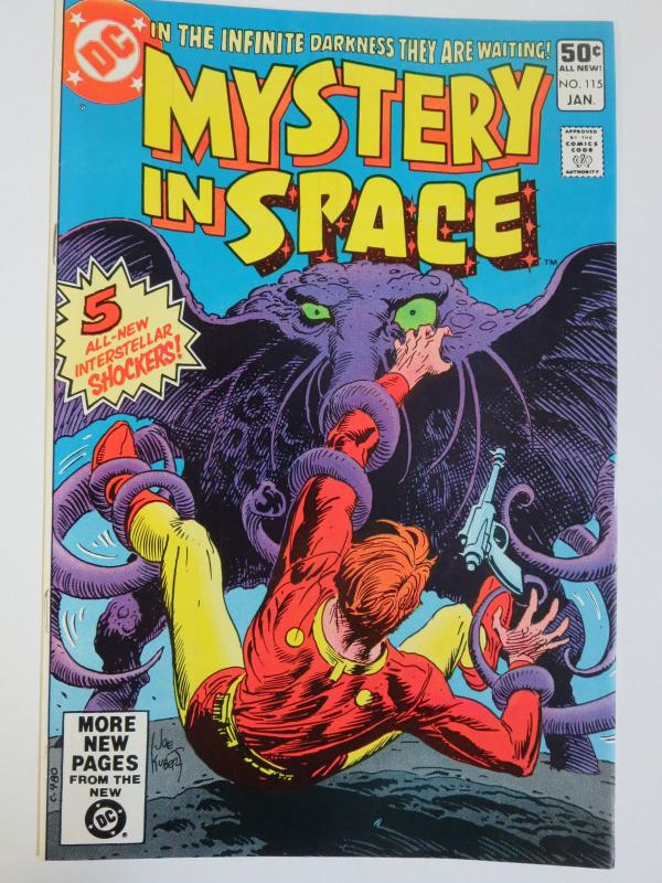 Mystery in Space #115 (DC 1981) Signed by Greg LaRocque! First DC Work!