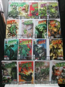 Incredible Hulk (Marve v3 2012) #1-15 Aaron Silvestri Portacio VS BANNER