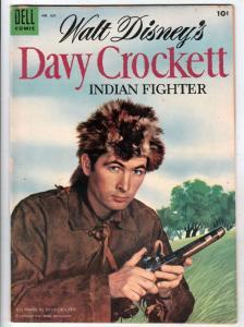 Four Color #631 (May-55) FN/VF+ High-Grade Davy Crockett
