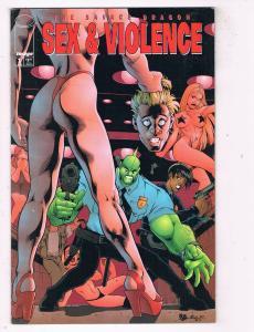 The Savage Dragon Sex & Violence #1 FN/VF Image Comics Comic Book Aug 1997 DE48