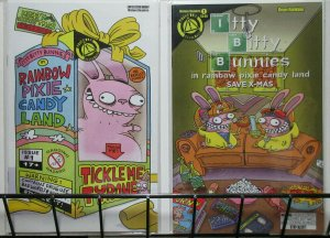 Itty Bitty Bunnies #1 + Variant (Image 2015) Dean Rankine Funny Comix