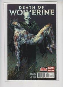 DEATH OF WOLVERINE #4 MARVEL /  VARIANT EDITION / UNREAD / HIGH